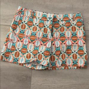 Cute Shorts! Teal and Orange